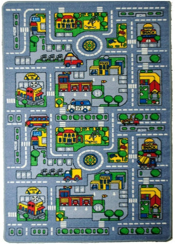 Kid S Rug City Map Children S Area Review Mykidsadviser