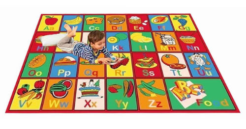 Kids Rug Abc Fruit Area Review