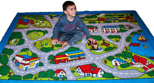 Perfect ... Kids Rug Street Map Children Area Rug 2  ...