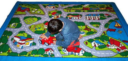 ... Kids Rug Street Map Children Area Rug 3  ...